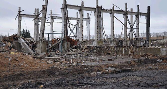 В Сватово взяли под охрану территорию бывших военных складов (фото, видео)