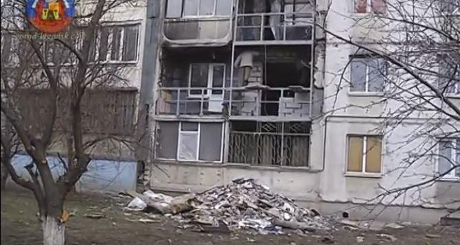 В Луганске восстановят 170 многоэтажек, пострадавших от обстрелов (видео)
