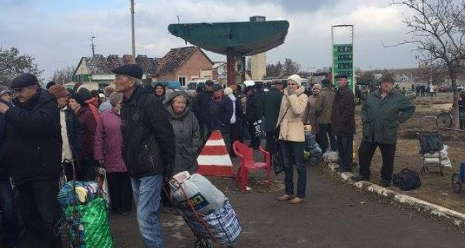 Пункт пропуска в Станице Луганской за сутки пересекли 3085 человек