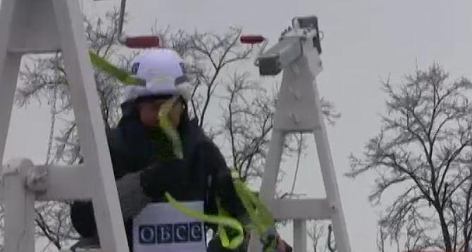 В районе донецкого аэропорта ОБСЕ установит камеры наблюдения