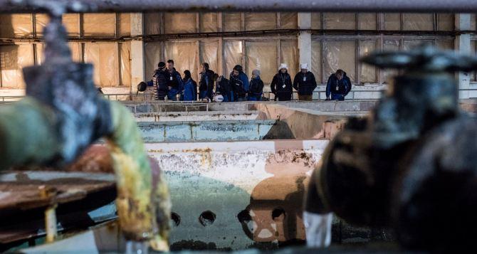 Боевые действия продолжают разрушать инфраструктуру водоснабжения на Донбассе. —ОБСЕ