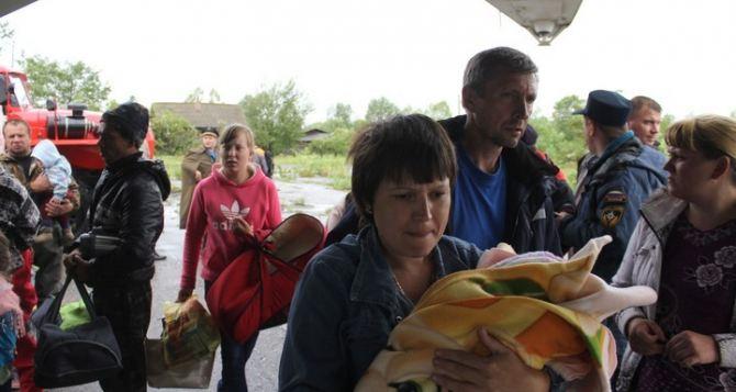 Охота на переселенцев. Ситуация в Луганской области