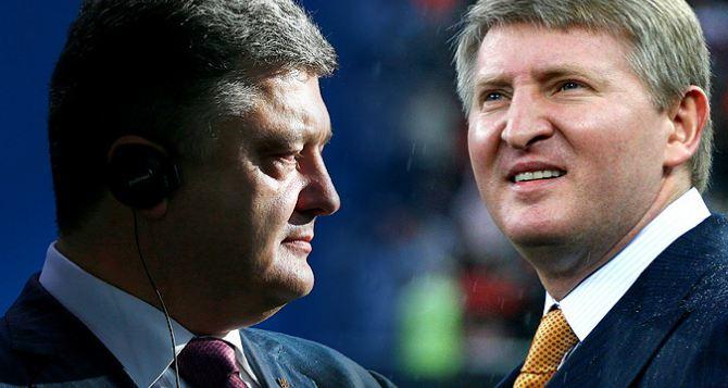 Порошенко допускает победу Ахметова и Бойко в выборах на Донбассе