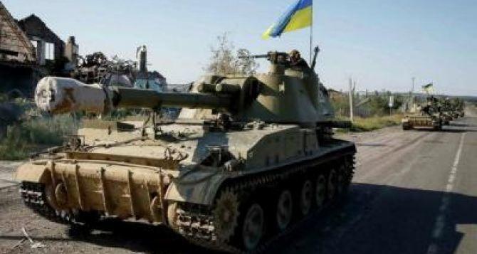 В ЛНР заявляют, что ВСУ перебросили танки к линии соприкосновения