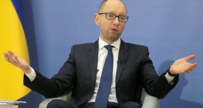Яценюк отменил  поездку в Харьков