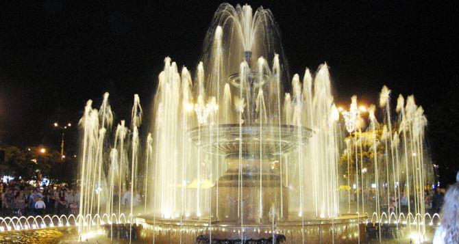 К майским праздникам в Донецке заработают фонтаны