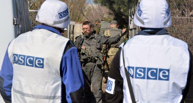 СММ ОБСЕ зафиксировала 800 взрывов в Луганской области