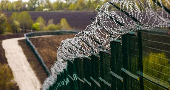 Под Харьковом показали «стену» на границе с Россией