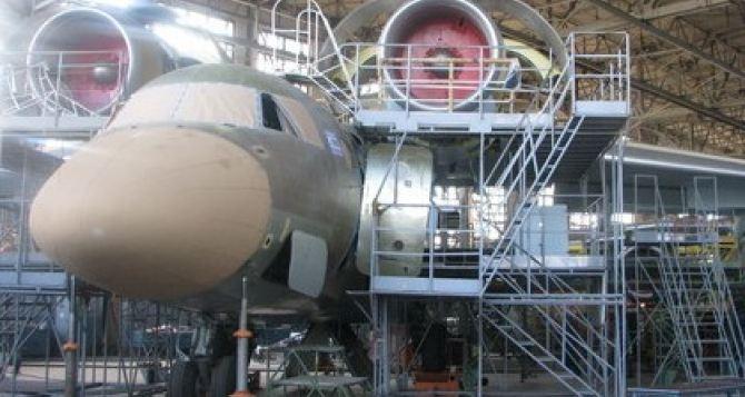 На Харьковском авиазаводе критическая ситуация