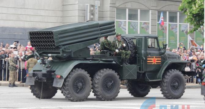 В параде 9мая в Луганске будет участвовать более 70 единиц военной техники