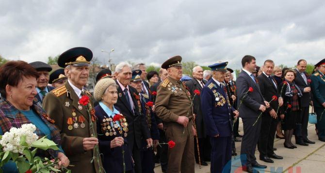 В Луганске состоялся автопробег «Живая память поколений» (фото)