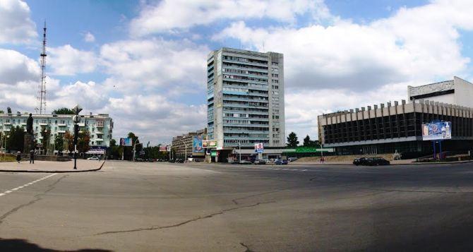 В Луганске 12мая ограничат движение транспорта на Театральной площади