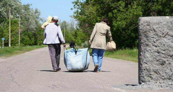 Пункт пропуска в Станице Луганской за сутки пересекли 3370 человек