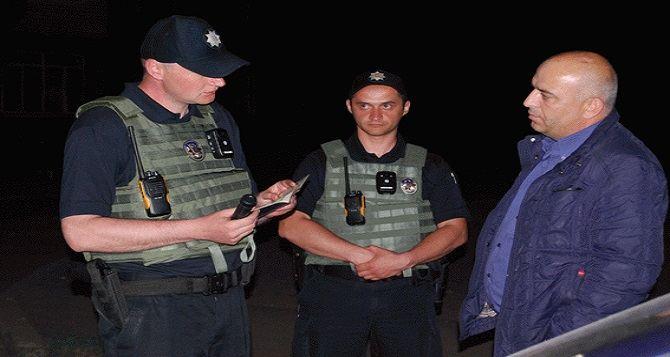 Как прошло первое дежурство новой патрульной полиции в Луганской области? (фото, видео)