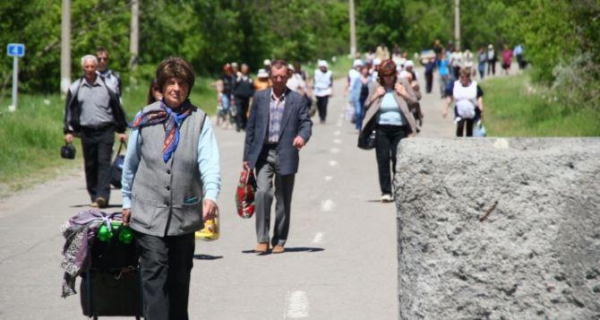 Пункт пропуска в Станице Луганской за сутки пересекли почти 5 тысяч человек