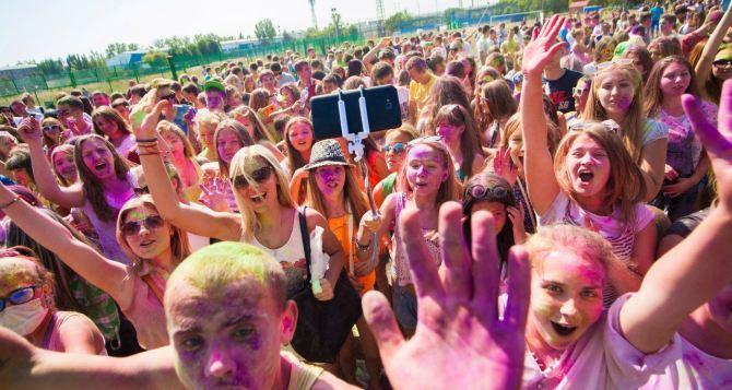 В Луганске пройдет праздник красок «Грязные танцы»
