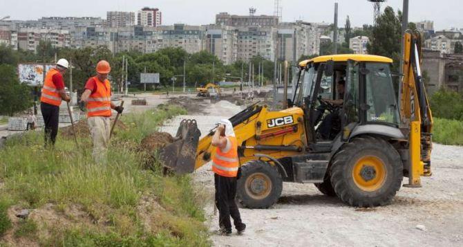 На строительство путепровода в Луганске выделят еще 96 млн руб.