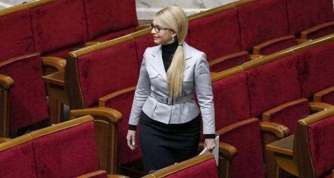 Тимошенко вырвалась вперед. Последние президентские рейтинги
