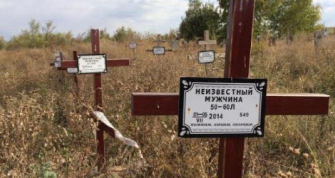 С начала боевых действий в Донецкой области без вести пропали более полутора тысяч человек