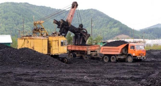 Шахты самопровозглашенной ЛНР с начала года выдали на-гора 3,3 млн тонн угля