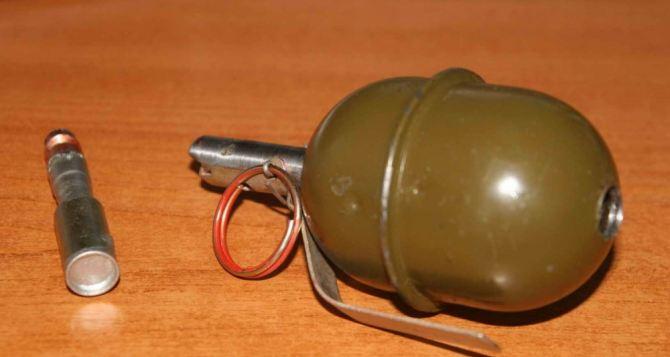 В Рубежном обнаружили тайник с боеприпасами