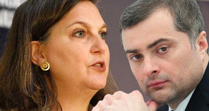 Нуланд снова едет к Суркову обсудить ситуацию на Донбассе
