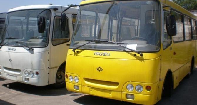 В Донецке муниципальные автобусы не выехали на линии