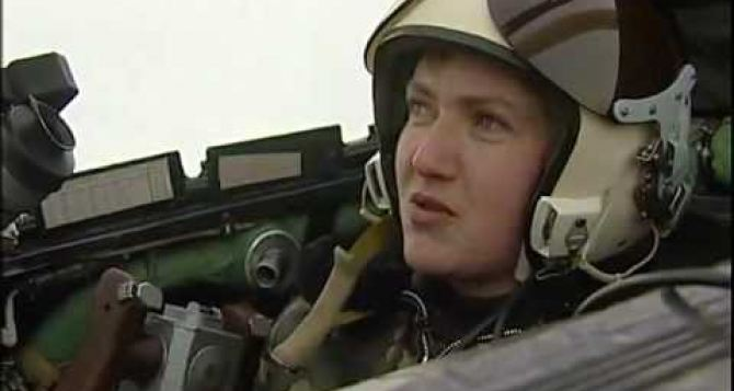 Савченко приехала в Станицу Луганскую