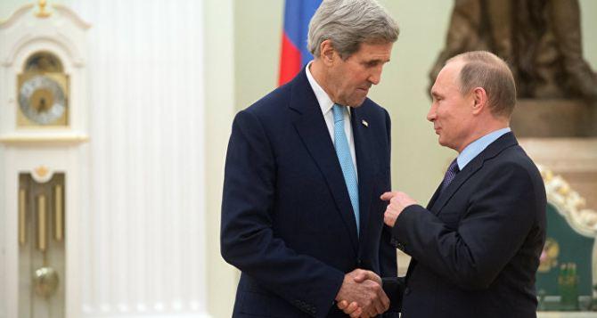 Керри после встречи с Путиным увидел перспективы для Донбасса