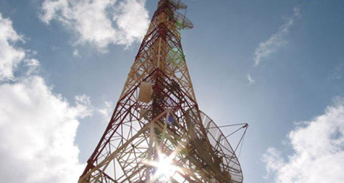 В Луганской области планируют установить телевизионную вышку для вещания на ЛНР