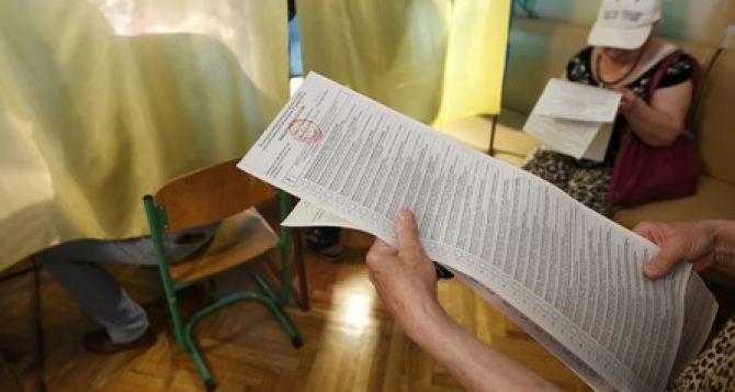 В Украине на семи округах состоялись довыборы в Верховную Раду