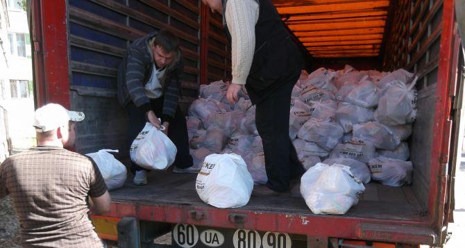В Донецк едет гуманитарная помощь с 40-ка тысячами продуктовых наборов