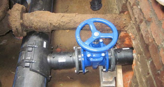 В самопровозглашенной ЛНР начали реконструкцию Родаковского водопровода