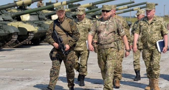 В Украине хотят ввести военное положение