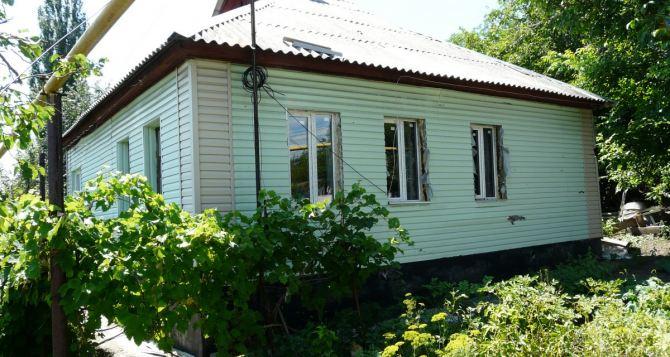 В Стаханове восстановили 120 домов, пострадавших от обстрелов