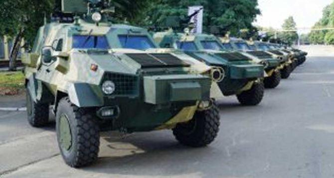 В Харькове передали военным 10 Дозоров-Б