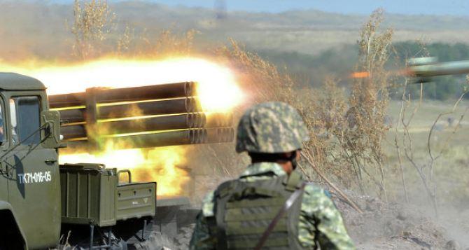 На Донбассе снова заряжают  «Грады». — СММ ОБСЕ