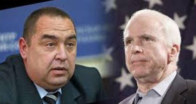 Плотницкий хочет пригласить на праймериз сенатора Маккейна