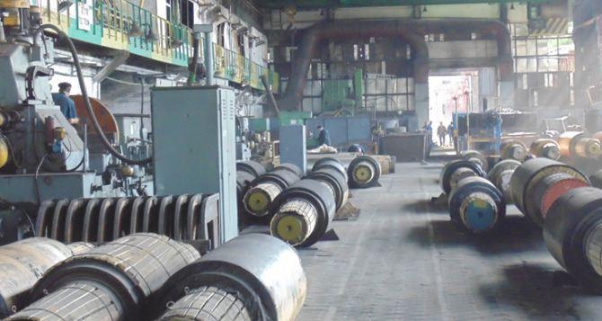 Лутугинский завод прокатных валков возобновляет работу