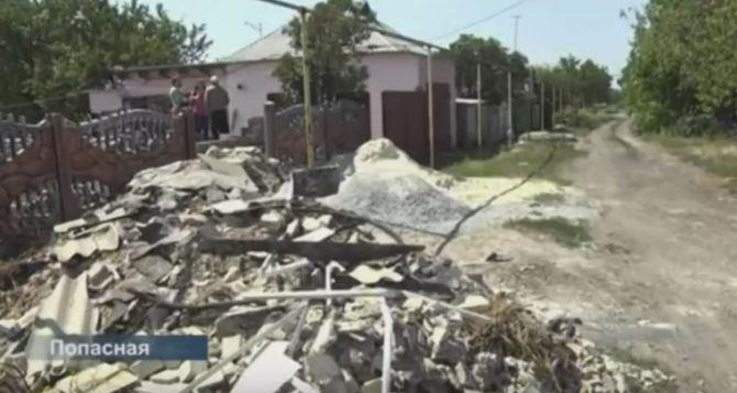 Норвежцы помогают восстанавливать жилье в Луганской области (видео)