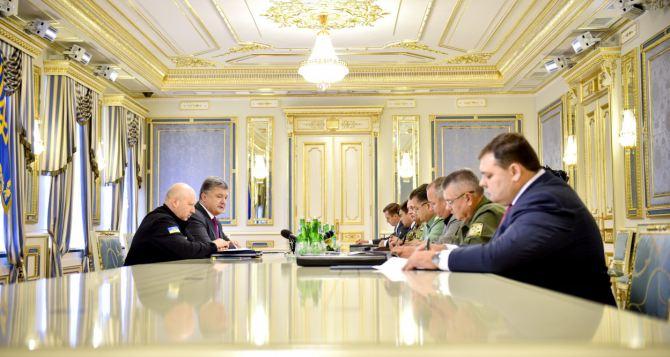 Войска Украины награнице сКрымом ивДонбассе приведены вбоеготовность