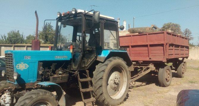 В Луганской области должностные лица незаконно торговали лесом (фото)