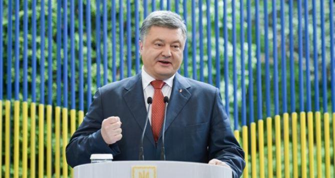 19 августа Порошенко будет в Харькове