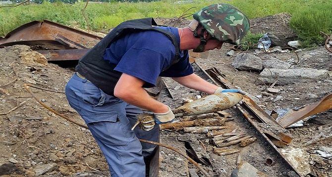 В Луганской области за сутки обнаружили 102 боеприпаса