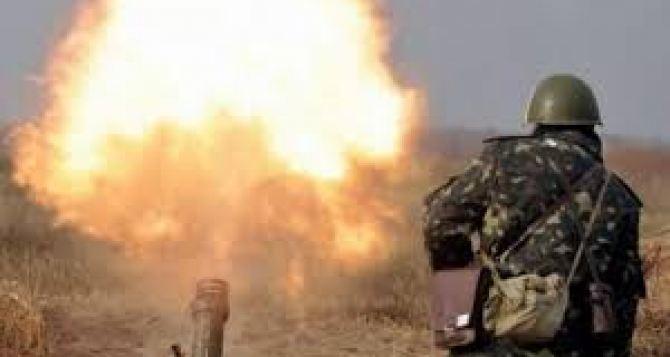 Боевики нанесли неменее 10 артиллерийских ударов вДонецкой области,— штаб АТО
