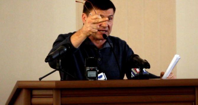 Пригебу уволили с должности секретаря Северодонецкого горсовета (видео)