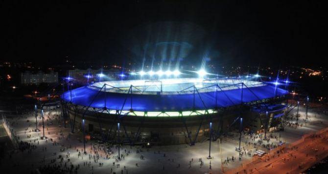 «Шахтер»— «Динамо» в Харькове. Проехать к стадиону можно только при наличии билета на матч