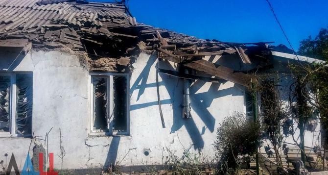 Артогнем в Макеевке повреждено более 40 домов
