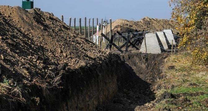 Проект «Стена». За два года выполнено 12% запланированных работ