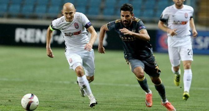 «Заря» сыграла вничью в первом матче Лиги Европы